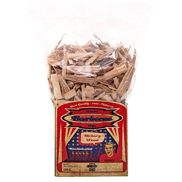 Axtschlag Wood Chips (Træflis) Hickory 1,0 kg