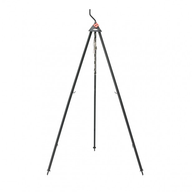 Bon-fire Basissæt 1, 3-ben, 140 cm / kæder 50 cm / grillrist Ø60 cm)