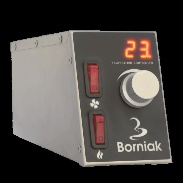 Borniak Røgeovn BBDS-70 Rustfri, BBQ Digital model
